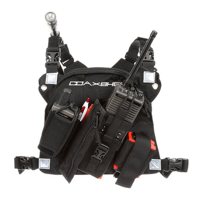 RCP-1 Pro Radio Chest Harness, Coaxsher