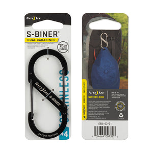 S-Biner Double Gated Carabiner, Nite Ize
