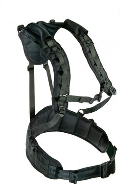 wildland web-gear harness with MOLLE attachment