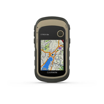 Rugged Handheld Garmin GPS w Compass & Barometric Altimeter