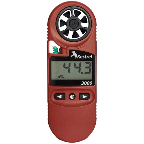 Kestrel 3000 All-Purpose Weather & Environmental Meter, Nielsen Kellerman