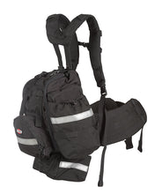 Side view of the True North NFPA 1977 Frontline Bushwhacker Wildland fire pack.