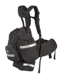 Side view of the Frontline Bushwhacker fire pack.
