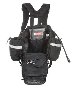 Black Side view of the True North NFPA 1977 Frontline Bushwhacker Wildland fire pack.