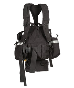 Back view of the True North Fireball Wildland Pack Gen2 Molle belt NFPA 1977