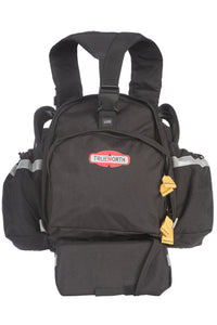 Front view of the Fireball backpack for wildfire firefighter gear.