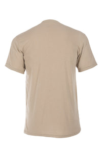Pro Dry 5.4 oz Short Sleeve Shirt (Tan), DragonWear