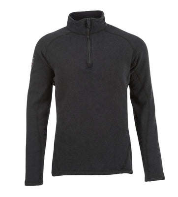 Livewire 1/4 Zip Shirt (Black), DragonWear
