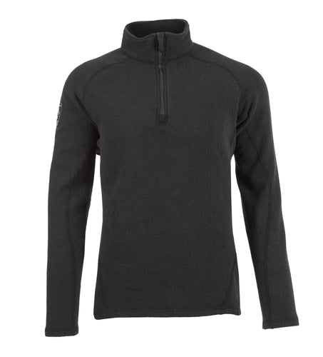 FR PowerGrid 1/4 Zip Dual Hazard Shirt (Grey), DragonWear
