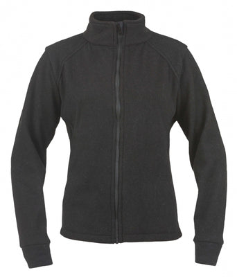 Women's Alpha Jacket (Black, Nomex Fleece), DragonWear