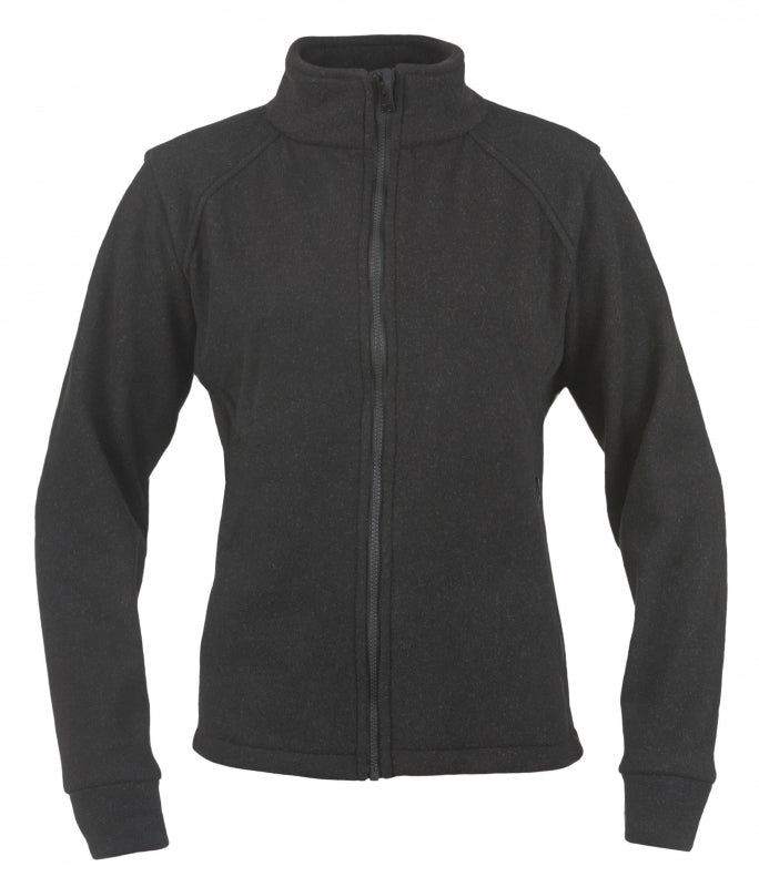 Women's Alpha Jacket-Nomex Fleece (Black), DragonWear