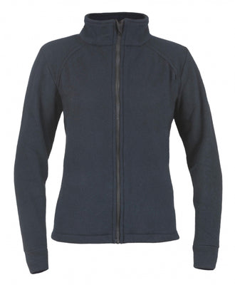 Women's Alpha Jacket-Nomex Fleece (Navy), DragonWear