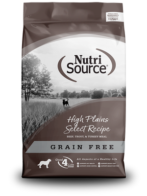 Grain Free High Plains Select - bag front