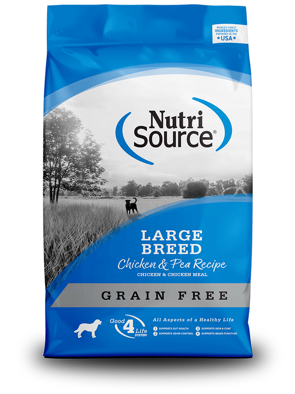 Grain Free Large Breed Chicken & Pea - bag front