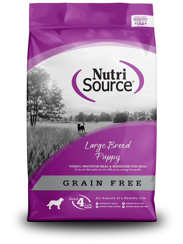 Grain Free Large Breed Puppy - bag front