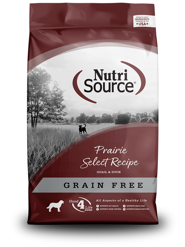 Grain Free Prairie Select - bag front