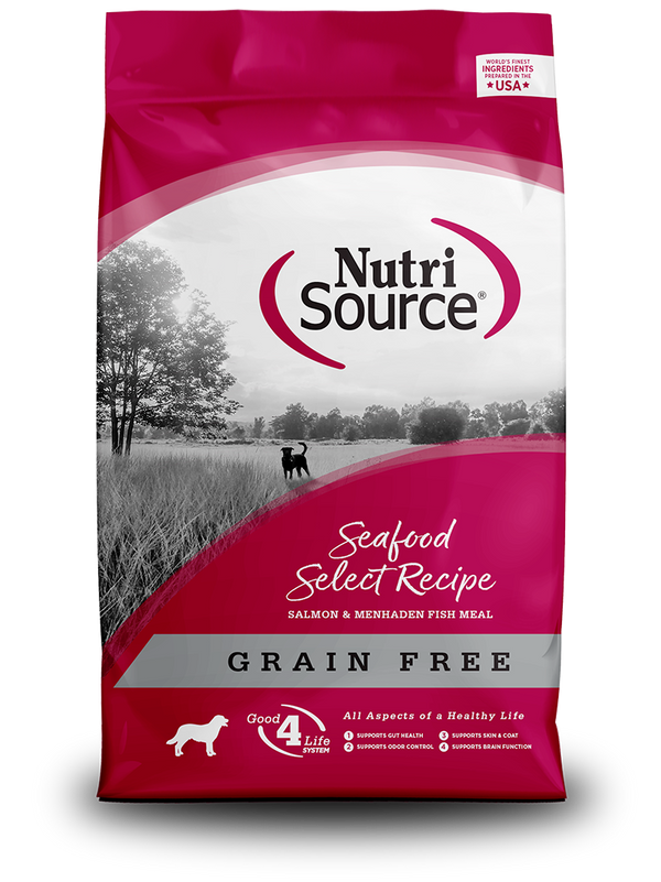 Grain Free Seafood Select - bag front