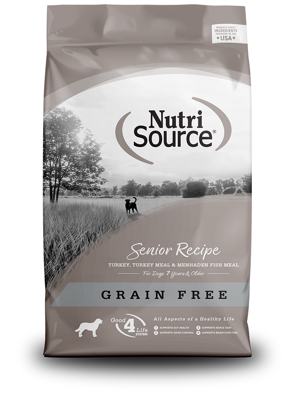 Grain Free Senior - bag front