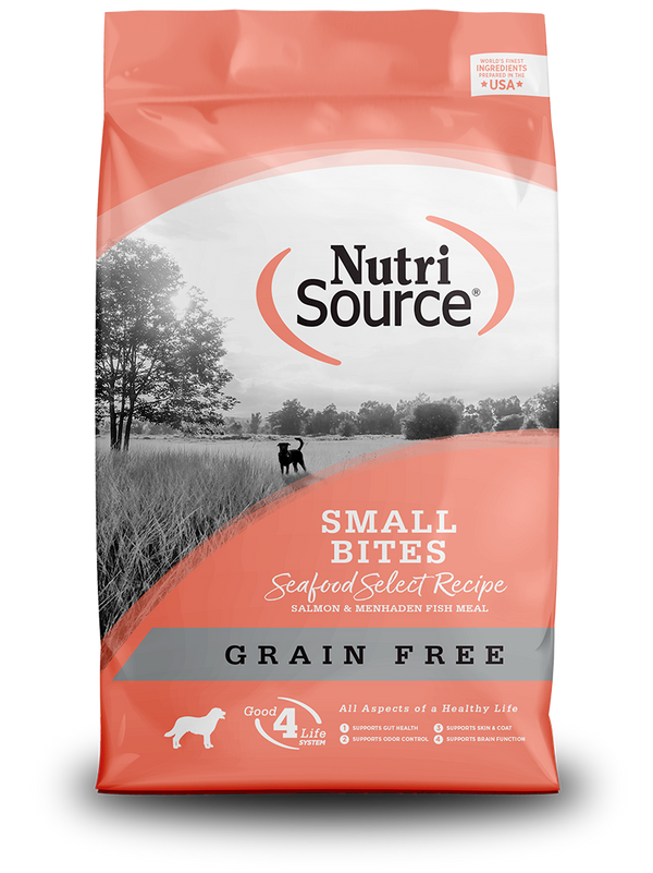 Grain Free Small Bites Seafood Select - bag front