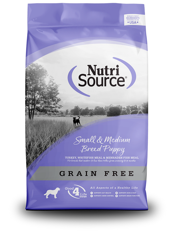 Grain Free Small and Medium Breed Puppy - bag front