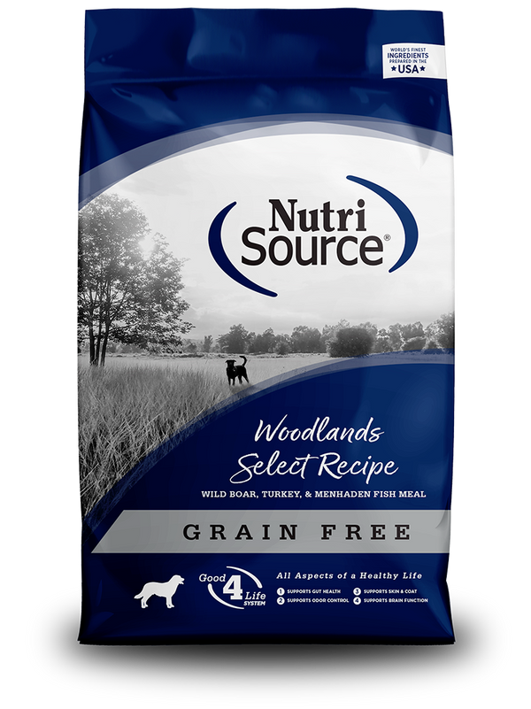 Grain Free Woodlands Select - bag front