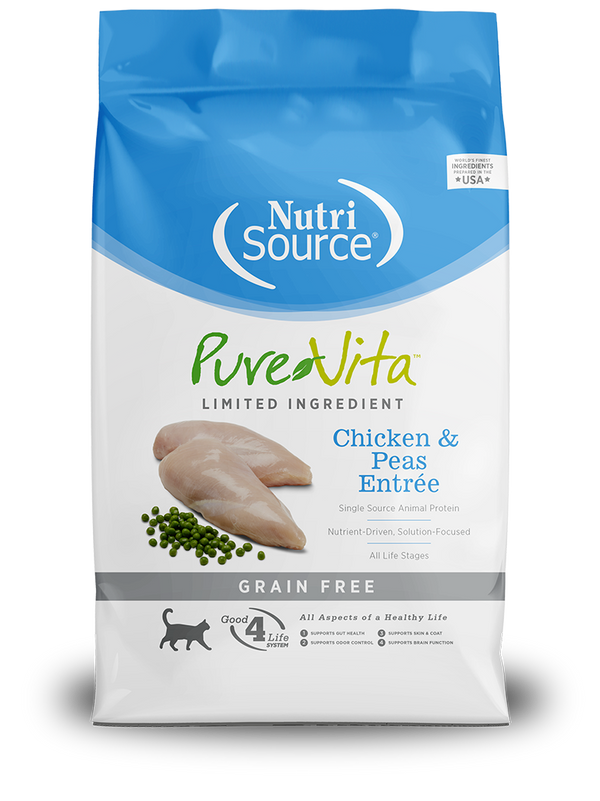 Grain Free Chicken & Peas Entrée - bag front