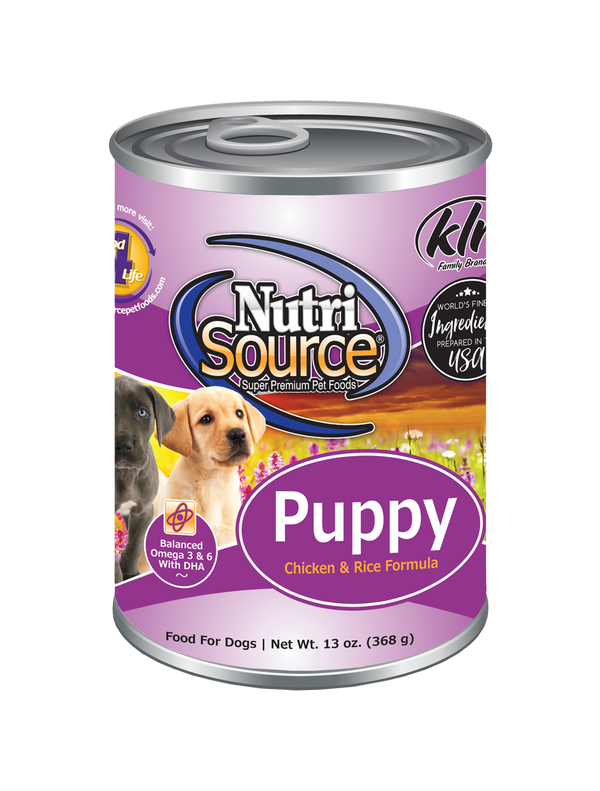 Chicken & Rice Puppy Formula - can