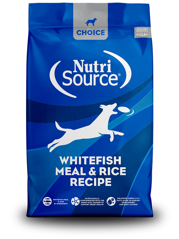 Whitefish Meal & Rice - bag front