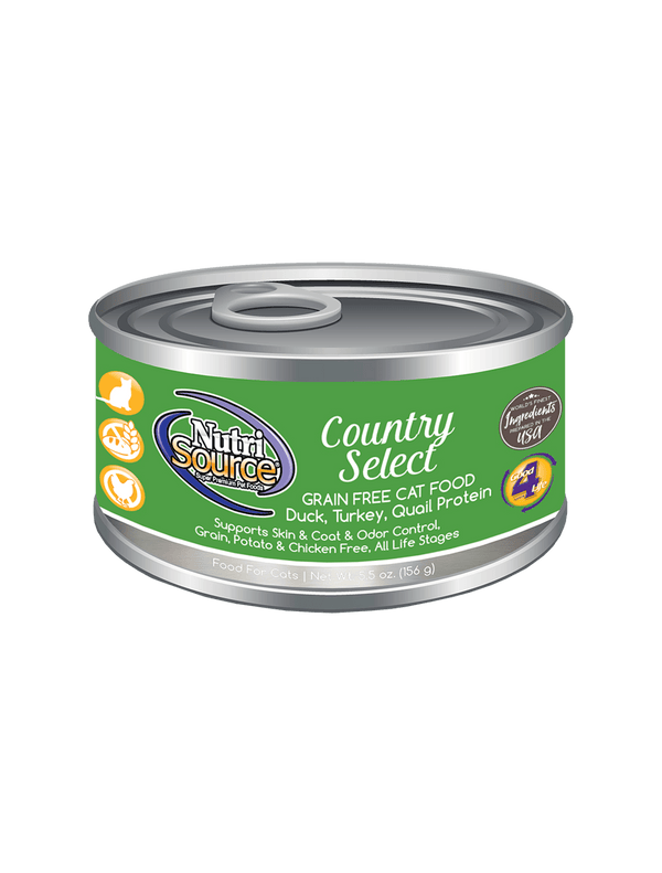 Grain Free Country Select Cat Formula - can