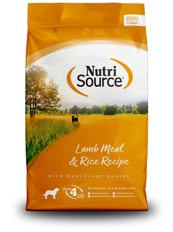 Lamb Meal & Rice - bag front
