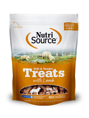Soft & Tender Dog Treats with Lamb