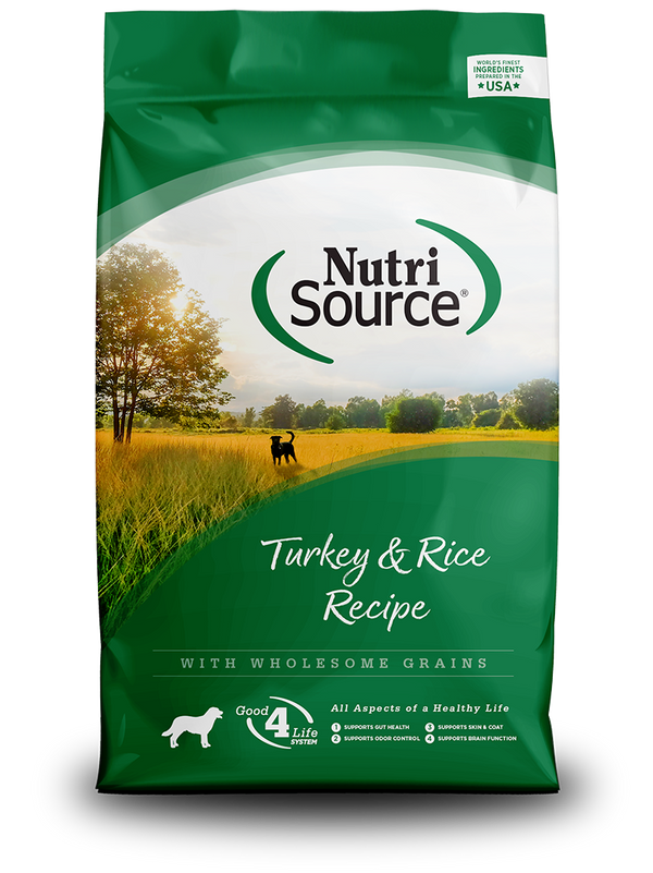 Turkey & Rice - bag front
