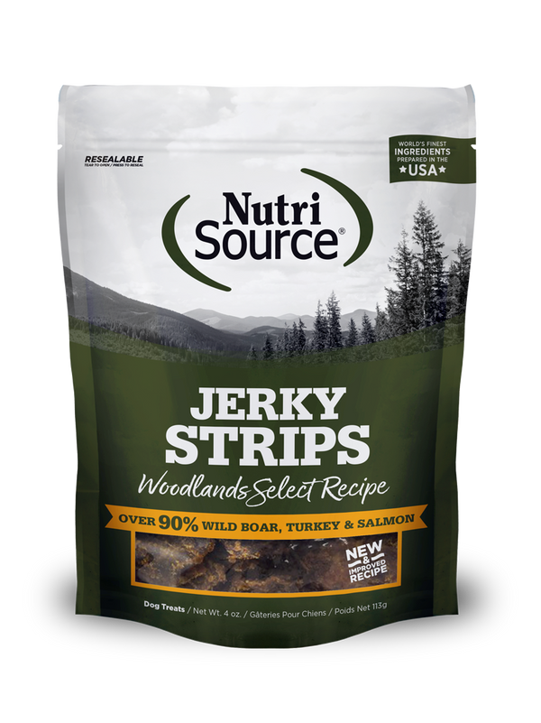 Woodlands Select Jerky - bag front