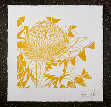 Load image into Gallery viewer, SCREEN PRINT - Banksia Baxteri Amy - One Colour. Edition of 2. Unframed.