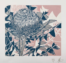 Load image into Gallery viewer, SCREEN PRINT - Banksia Baxteri Amy. Edition of 7. Unframed.