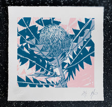 Load image into Gallery viewer, SCREEN PRINT - Banksia Baxteri Noelene. Edition of 7. Unframed.