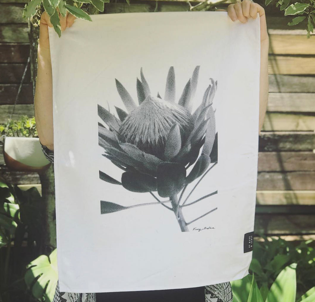 TEA TOWEL - King Protea