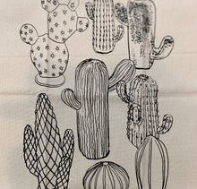 Load image into Gallery viewer, TEA TOWEL - Ceramic Cactus