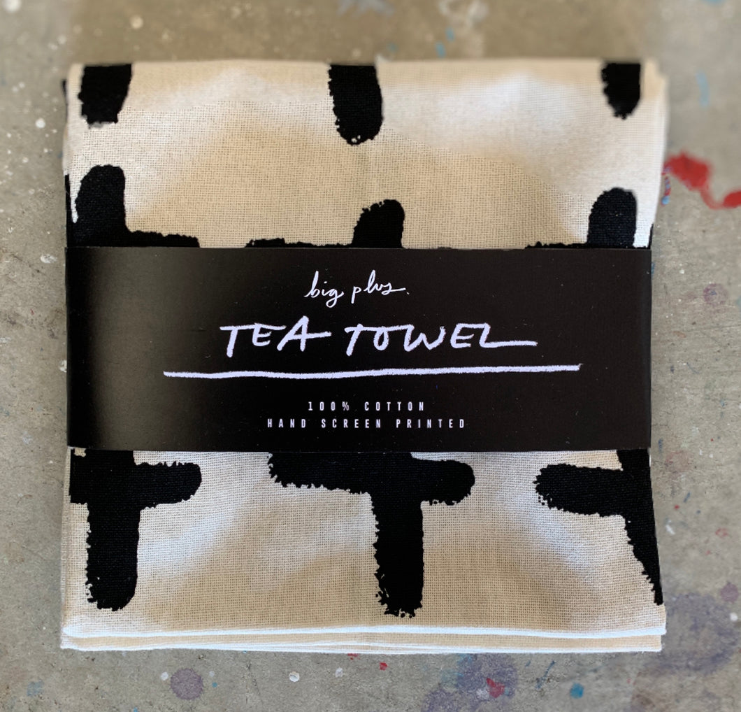 TEA TOWEL - The Big Plus