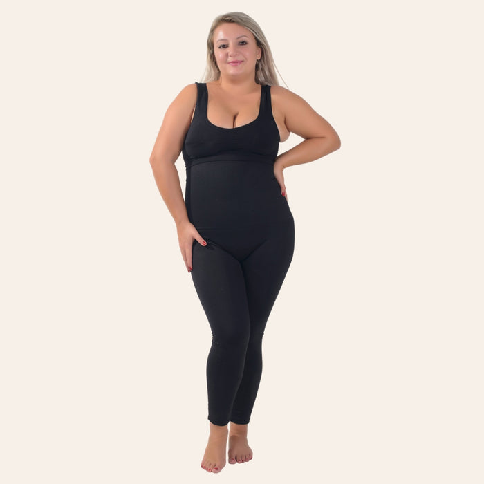 Extra High Waisted Sculpting Shaper Legging - Shapewear Affair