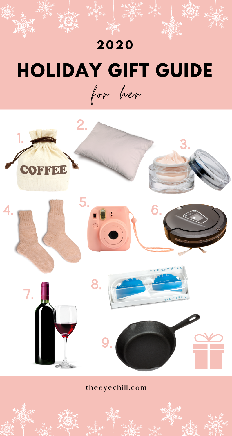 9 Christmas gift ideas for her with individual images