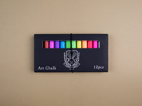 Scallop Shell Dustless Art Chalks