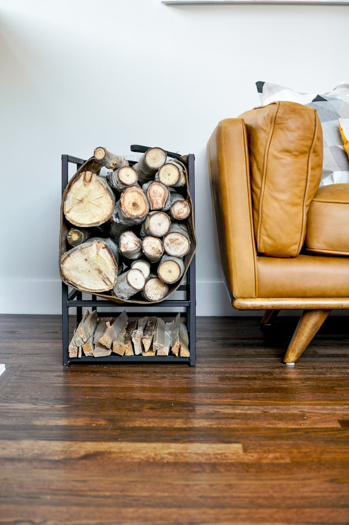 Firewood Side Table