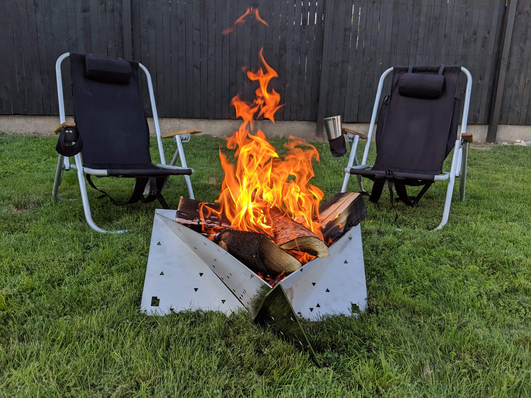 Camp Fire Pit - Flat Pack