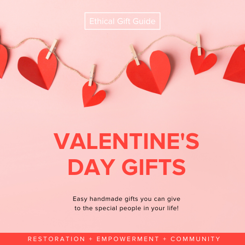 Valentine's Day Ethical Gift Guide | RE+NEW+ALL Candle