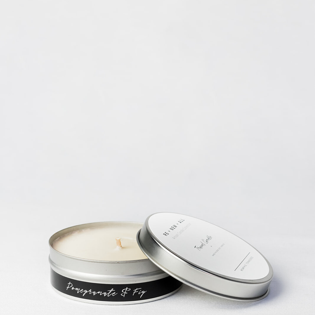 Pomegranate & Fig Travel Candle