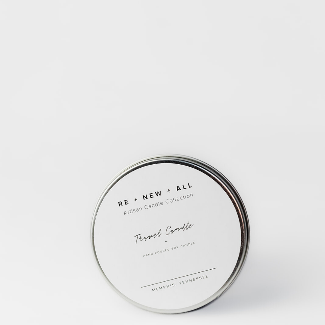 Hibiscus Travel Candle