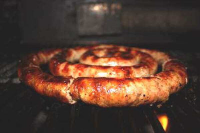 Longhorn Famous Sausage (4 lbs per order) - Longhorn Meat Market