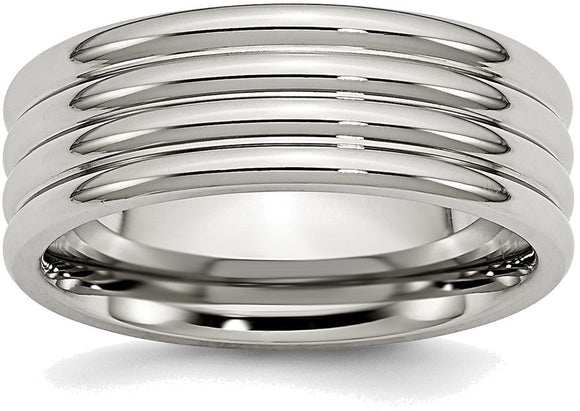 Grooved Polished Band