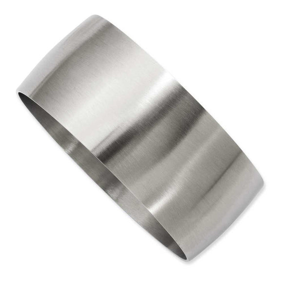 Stainless Steel Brushed Bangle